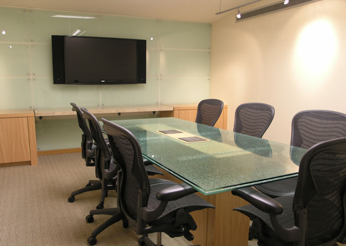 Clean conference rooms